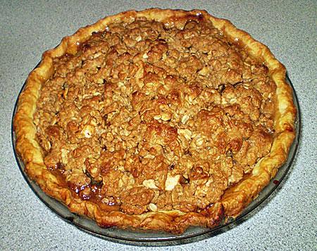 photo recette tarte garniture croustade pommes la gourmande modeste